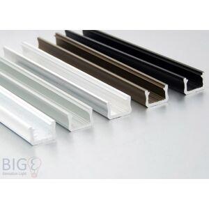 Nextec Aluminium Profil Aufputz NTB schmal für LED Streifen