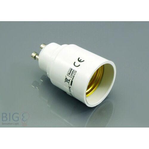 LogiLight Hochvolt Leuchtmitteladapter GU10 auf E27