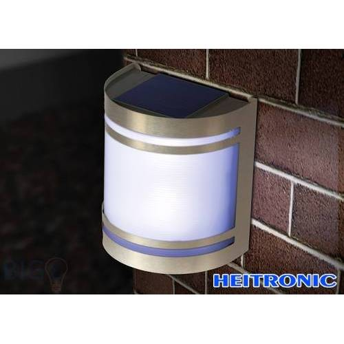 Heitronic Solar LED Wandleuchte 36969