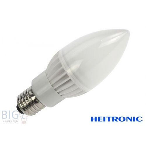 Heitronic LED Leuchtmittel Kerze CERA E27 weiss/warmweiss 5W