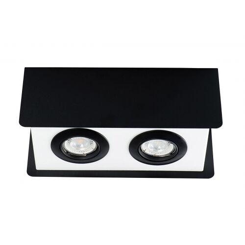 Kanlux Deckenspotleuchte TORIM DLP-250 B-W schwarz weiss