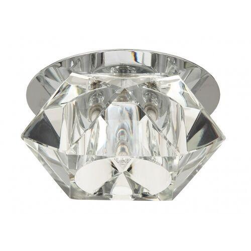Kanlux Kristall Einbaustrahler G4 4-eckig abgeschrägt