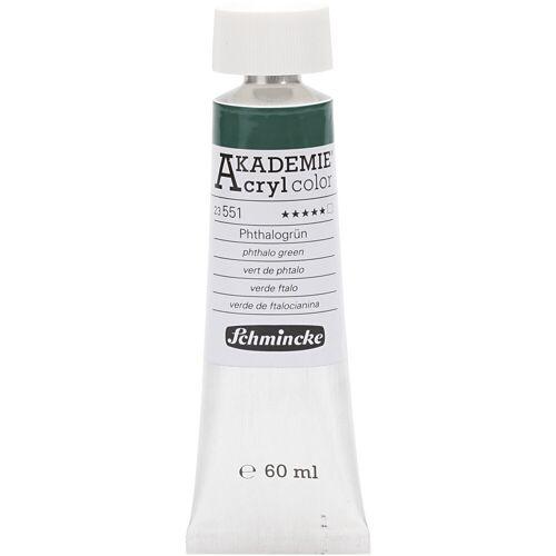 Packlinq Schmincke AKADEMIE® Acrylfarbe, Phthalogrün (551), Transparent, , 60ml