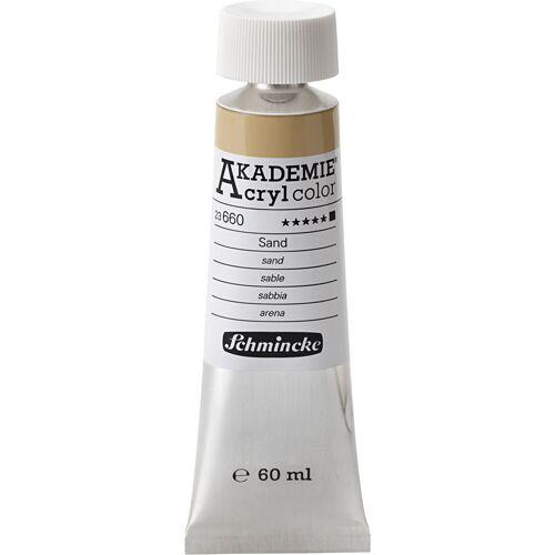 Packlinq Schmincke AKADEMIE® Acrylfarbe, Sand (660), Opak, , 60ml