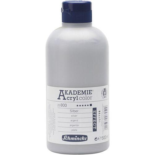 Packlinq Schmincke AKADEMIE® Acrylfarbe, Silber (800), Opak, , 500ml