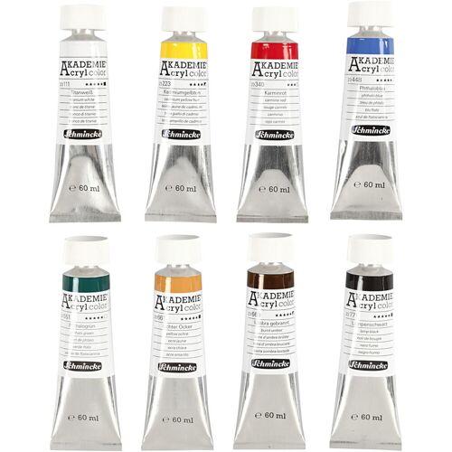 Packlinq Schmincke AKADEMIE® Acrylfarbe, 8x60ml