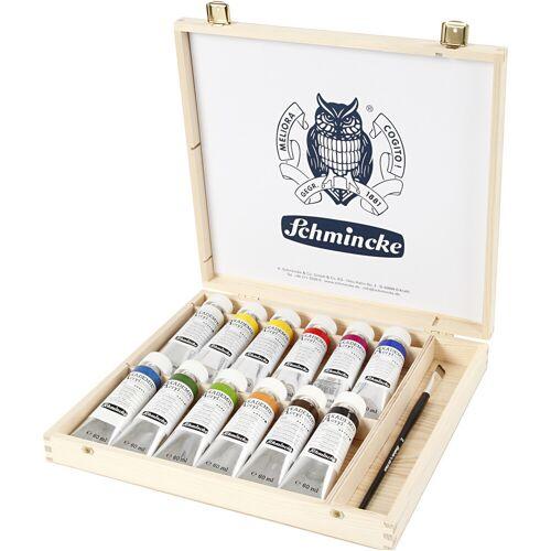 Packlinq Schmincke AKADEMIE® Acryl-Farbe, 12x60ml