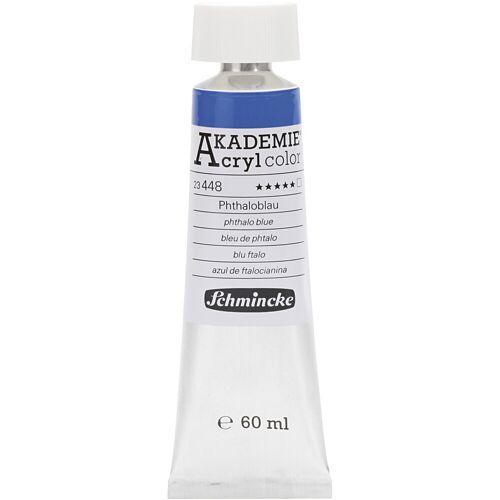 Packlinq Schmincke AKADEMIE® Acrylfarbe, Phthaloblau (448), Transparent, , 60ml