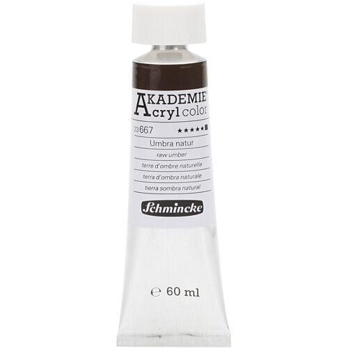 Packlinq Schmincke AKADEMIE® Acrylfarbe, Umbra natur (667), Opak, , 60ml