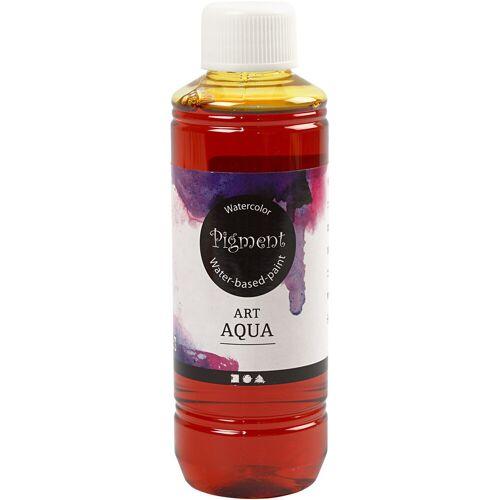 Packlinq Art Aqua Pigment Aquarellfarbe, Gelb, 250ml