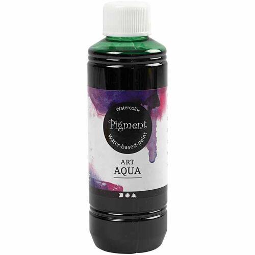 Packlinq Art Aqua Pigment Aquarellfarbe, Grün, 250ml