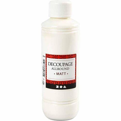 Packlinq Découpage-Lack, Matt, 250ml