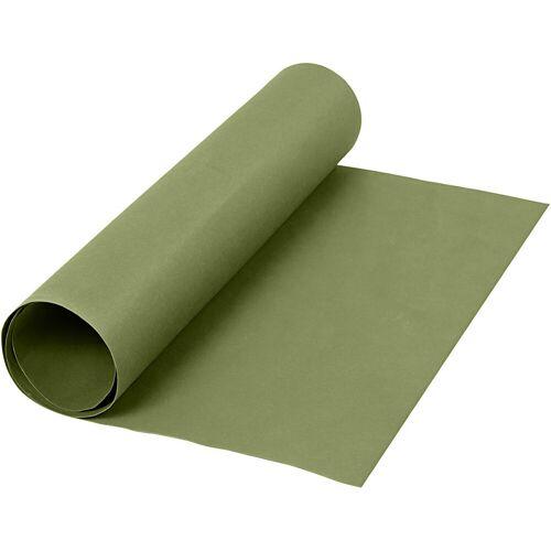 Packlinq Kunstlederpapier, B 50 cm, 350 g/qm, Grün, 1m