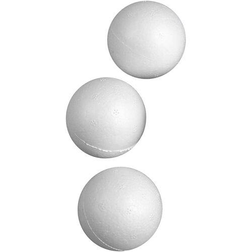 Packlinq Styropor-Kugeln, D: 5 cm, Weiß, Styropor, 50Stck.