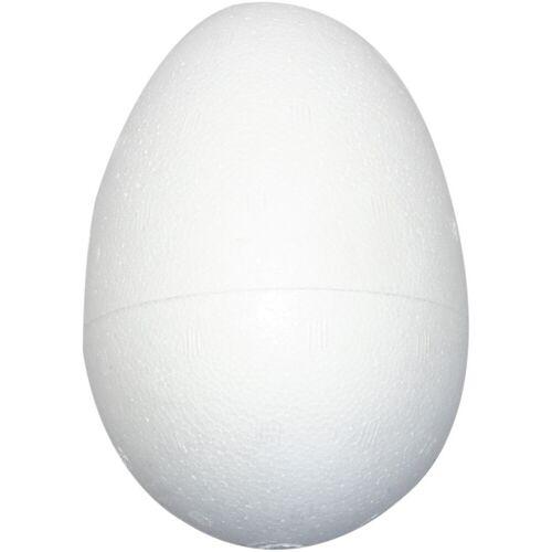 Packlinq Styropor-Eier, H 12 cm, Weiß, Styropor, 25Stck.