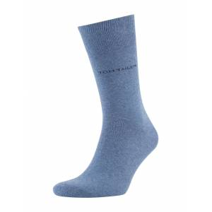 TOM TAILOR Herren Basic Socken im Doppelpack, blau, unifarben, Gr.39-42