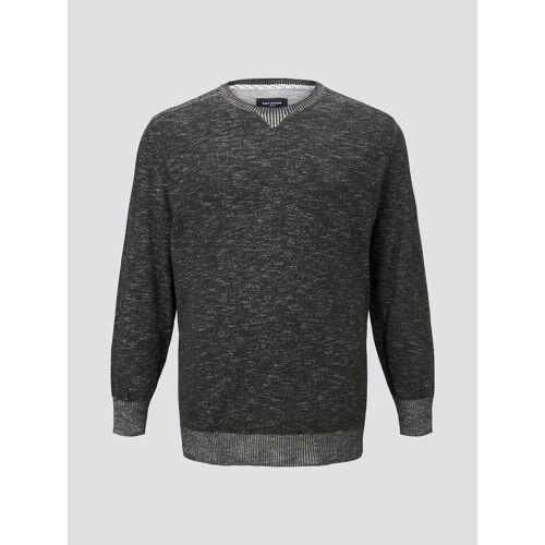 TOM TAILOR Herren langarm Sweatshirt, grau, Gr.2XL