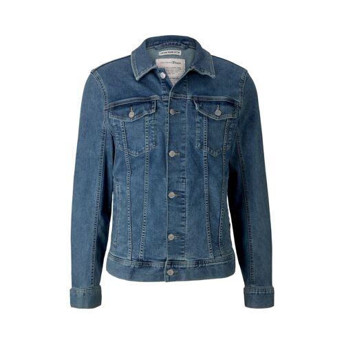 TOM TAILOR DENIM Herren Vintage Jeansjacke, blau, Gr.S