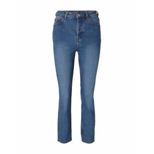TOM TAILOR DENIM Damen Lotte Slim Straight Jeans, blau, Gr.26