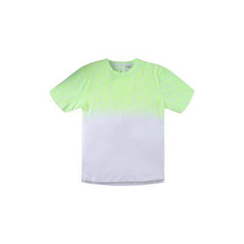 TOM TAILOR Jungen T-Shirt mit verlaufendem Print, grün, Gr.164