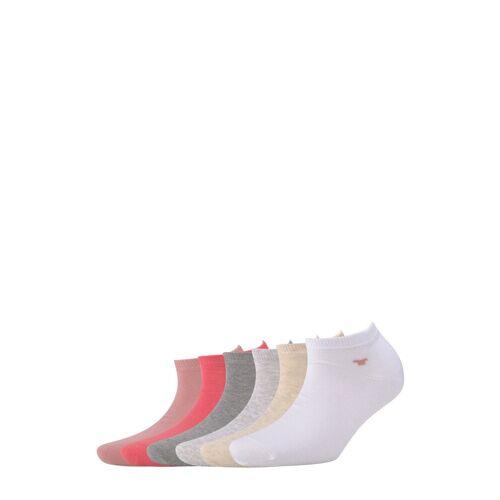 TOM TAILOR Damen Sneakersocken im Sechserpack, rosa, Gr.35-38