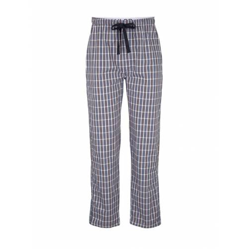 TOM TAILOR Herren Karierte Pyjama Hose, blau, kariert, Gr.50/M