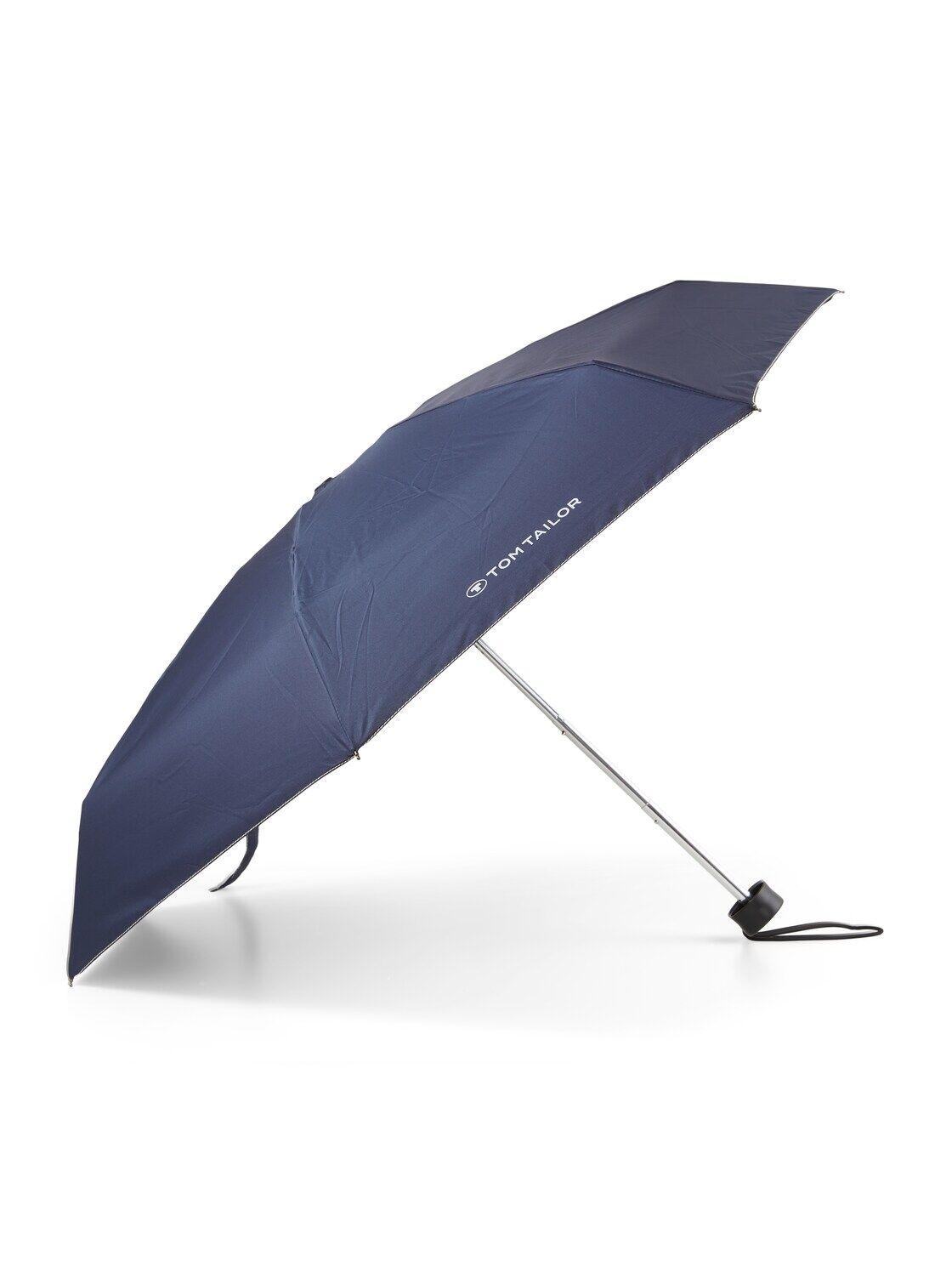TOM TAILOR Unisex Ultra mini Taschenschirm, blau, unifarben, Gr.OneSize
