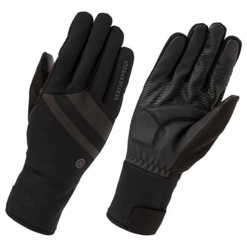 AGU wetterfeste Handschuhe Schwarz