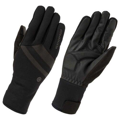 AGU wetterfeste Handschuhe Essential Schwarz