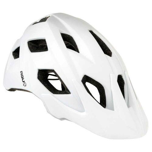 AGU Xc Mtb Fahrradhelme Weiß