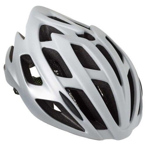 AGU Strato Fahrradhelme Weiß/silber