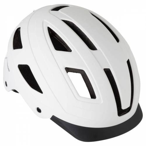 AGU Cit-e Iv Led Fahrradhelme Weiß