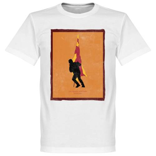 Retake Ulubatli Souness Galatasaray Fahne T-shirt - weiß - 5XL