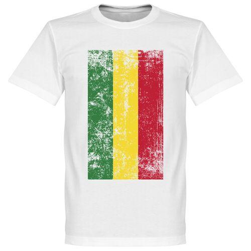 Retake Bolivien Fahne T-Shirt - weiß - XL