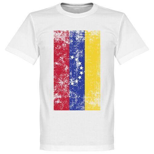 Retake Venezuela Fahne T-Shirt - weiß - XXL