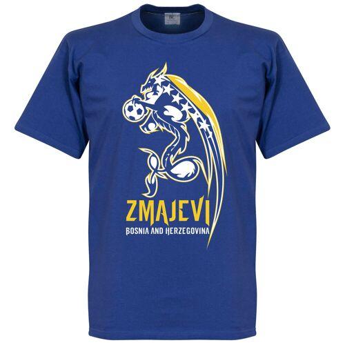 Retake Bosnien Dragons T-shirt - blau - XL