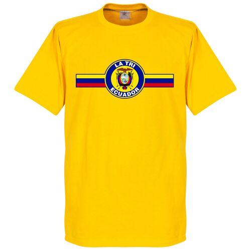 Retake Ecuador Logo Kids T-shirt - gelb - 8 Years