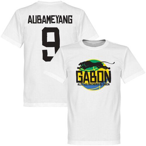 Retake Gabun Logo Aubameyang T-Shirt - weiß - S