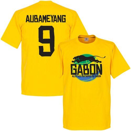 Retake Gabun Logo Aubameyang T-Shirt - gelb - L