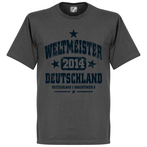 Retake Deutschland Weltmeister T-Shirt - grau