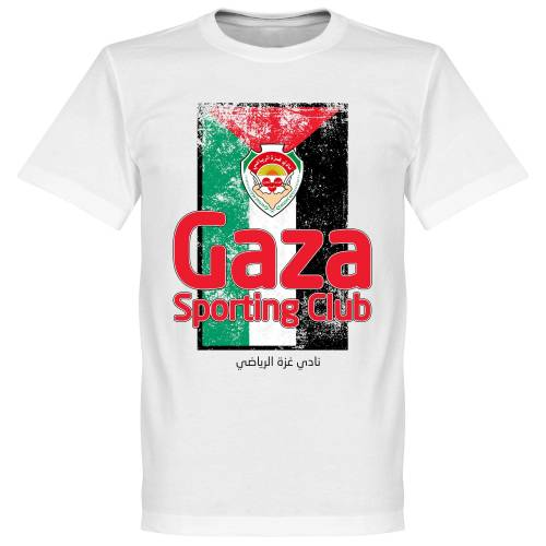 Retake Sporting Club Gaza Fahne T-shirt - weiß - XL