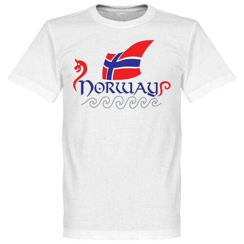 Retake Norwegen T-Shirt - weiß - L