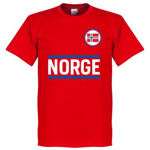 Retake Norwegen Team T-Shirt - rot - XXL