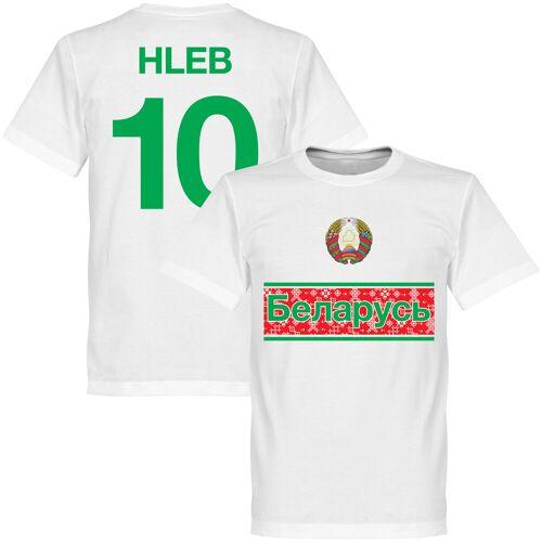 Retake Weißrussland Team T-Shirt - weiß + Hleb 10 - XS