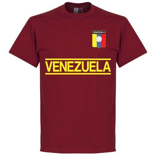 Retake Venezuela Team T-shirt - dunkelrot - S