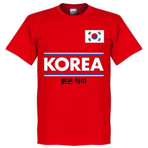 Retake Südkorea Team T-Shirt - Red - M