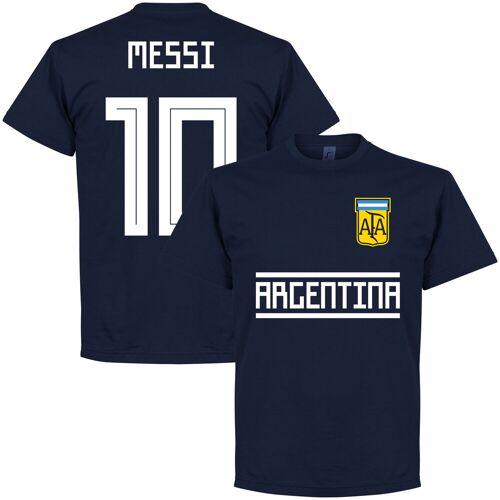 Retake Argentinien Messi 10 Team T-Shirt - navy - M