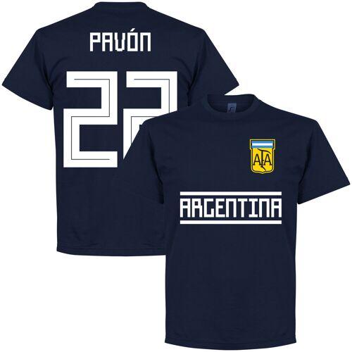 Retake Argentinien Pavon 22 Team  T-Shirt - navy - XXL