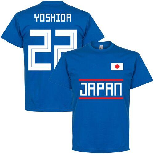 Retake Japan Yoshida 22 Team T-Shirt - blau - S