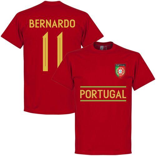 Retake Portugal Bernardo 11 Team T-Shirt - rot - L